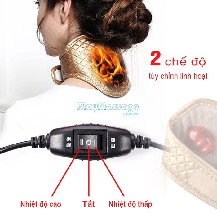 Đai quấn nóng tạo nhiệt sưởi ấm điều trị đau mỏi cổ YIJIA YJ-906A