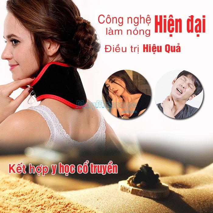 Đai quấn nóng trị liệu đau nhức cổ YIJIA YJ-906B
