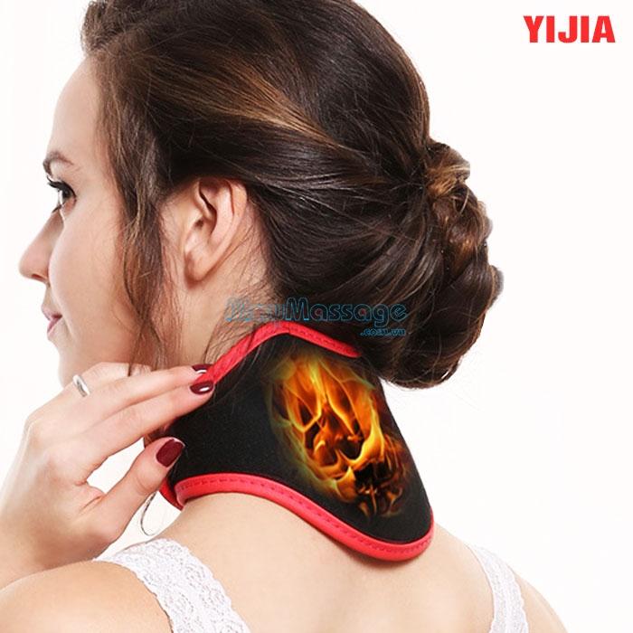 Đai quấn nóng trị liệu đau nhức xương khớp cổ YIJIA YJ-906B