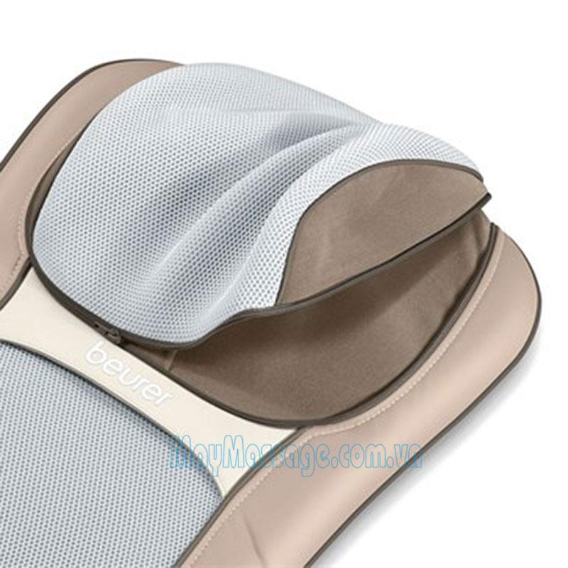 ghế massage ô tô đèn hồng ngoại 3D Beurer MG295