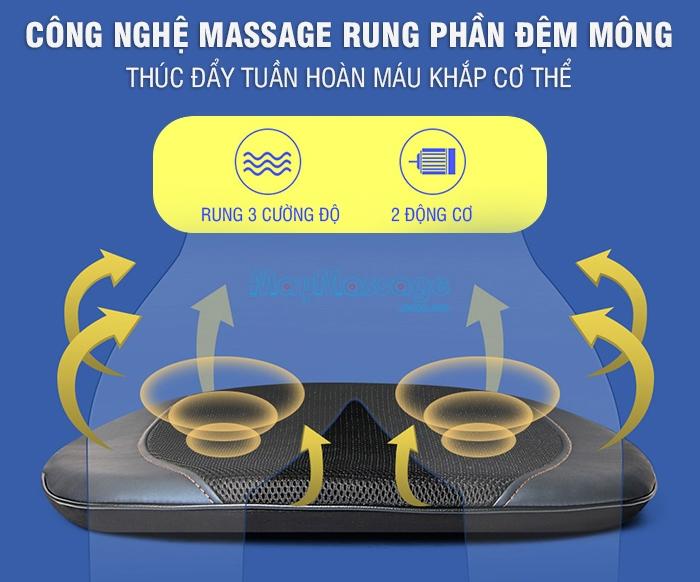Ghế massage cao cấp Nikio NK-180