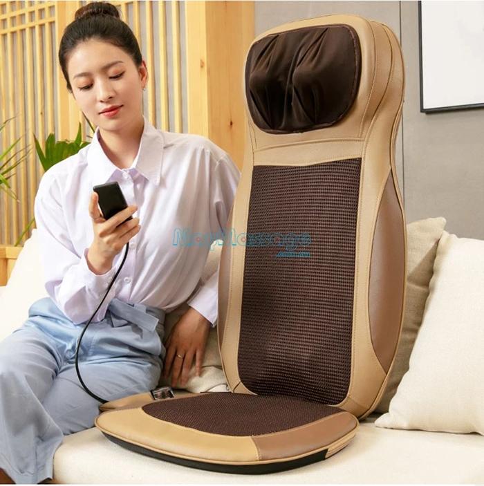 Ghế massage ô tô toàn thân hồng ngoại Puli PL-802B