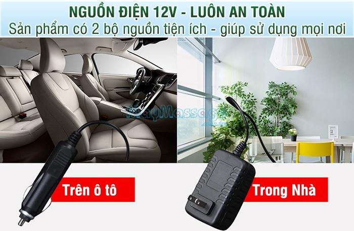 Đệm massage ô tô Puli PL-802B