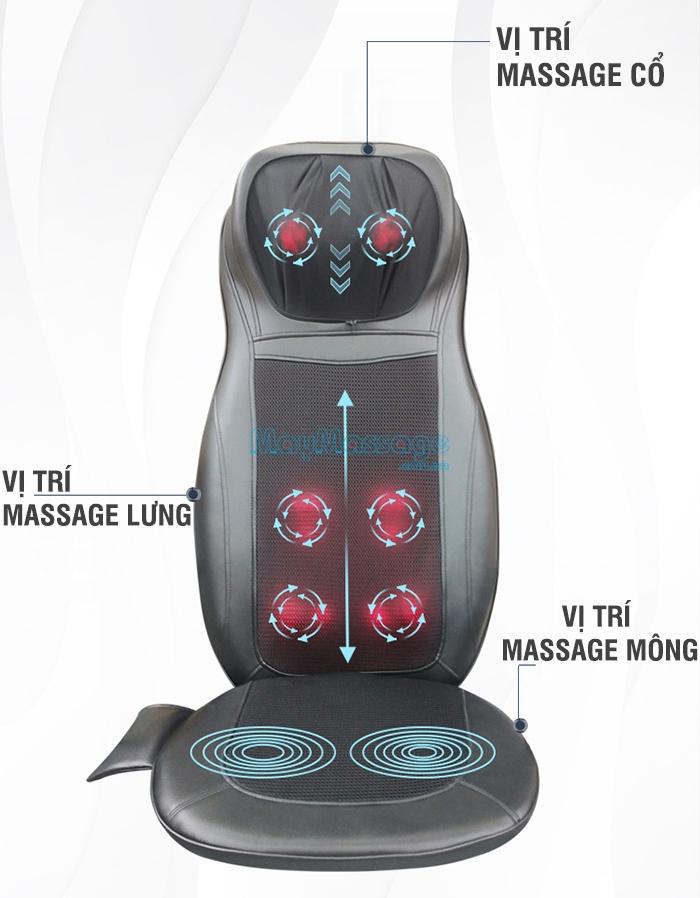 Đệm massage Puli PL-802B