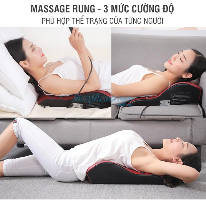Máy massage lưng 4 chức năng YJ-M6