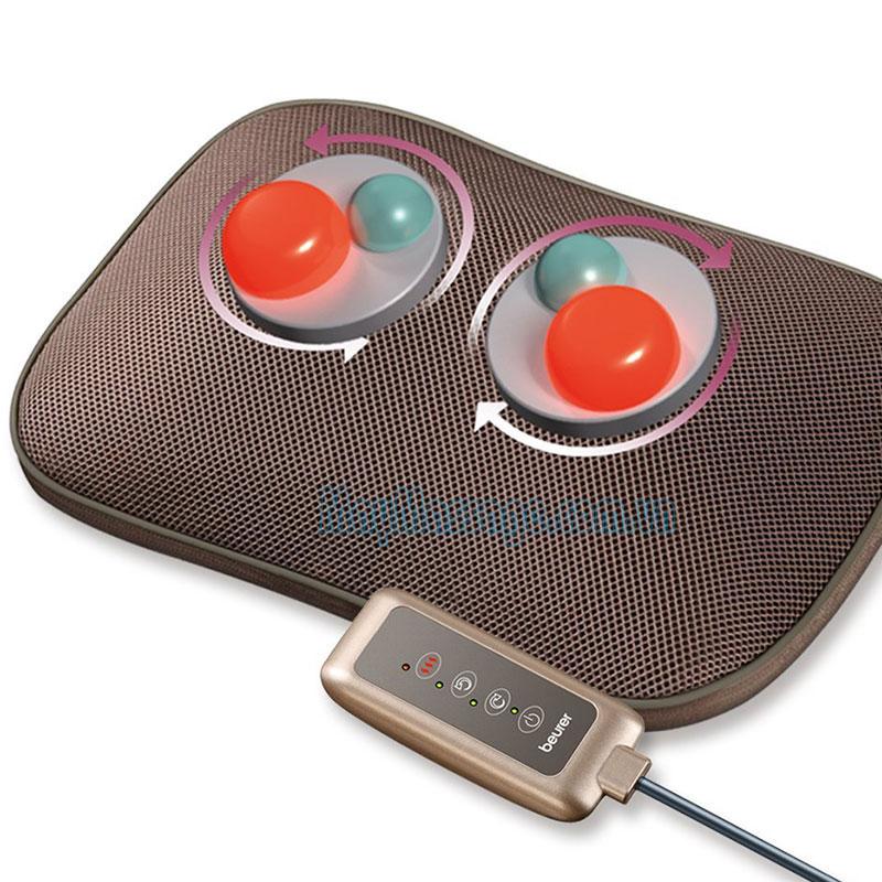 Gối massage đèn hồng ngoại Beurer MG145