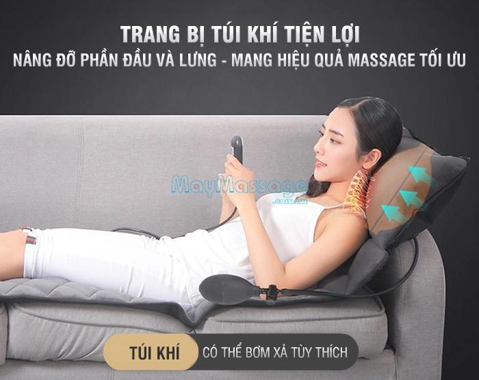 Nệm massage toàn thân Nikio NK-151 có túi khí