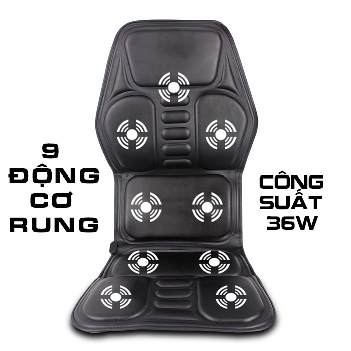 Đệm massage ô tô nhiệt nóng MingZhen