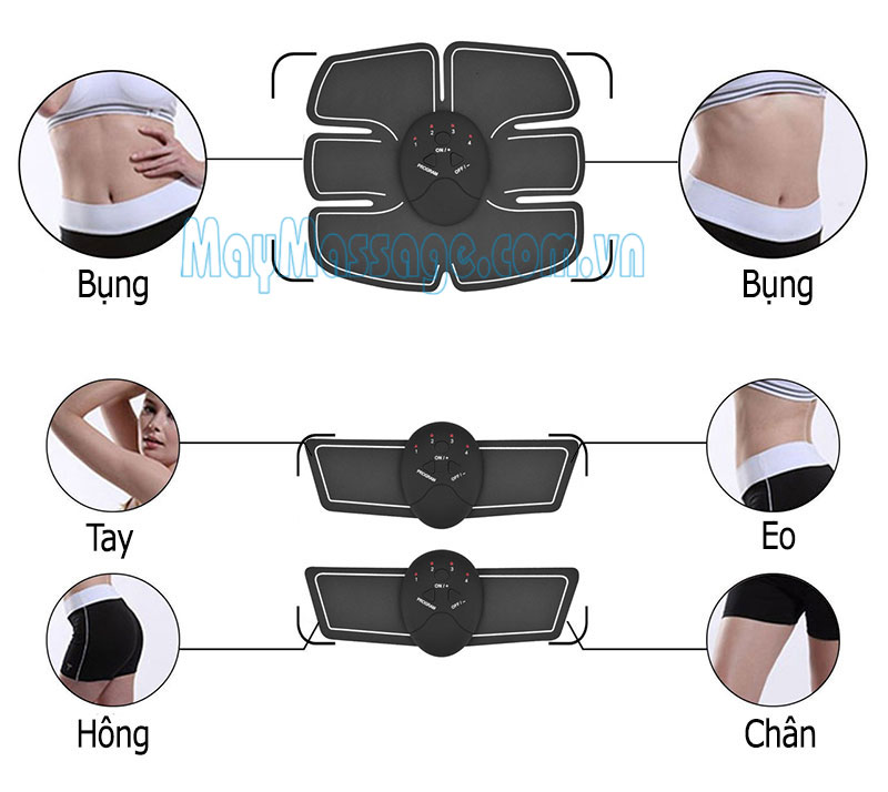 Đai massage tập gym di động Beauty Body EMS