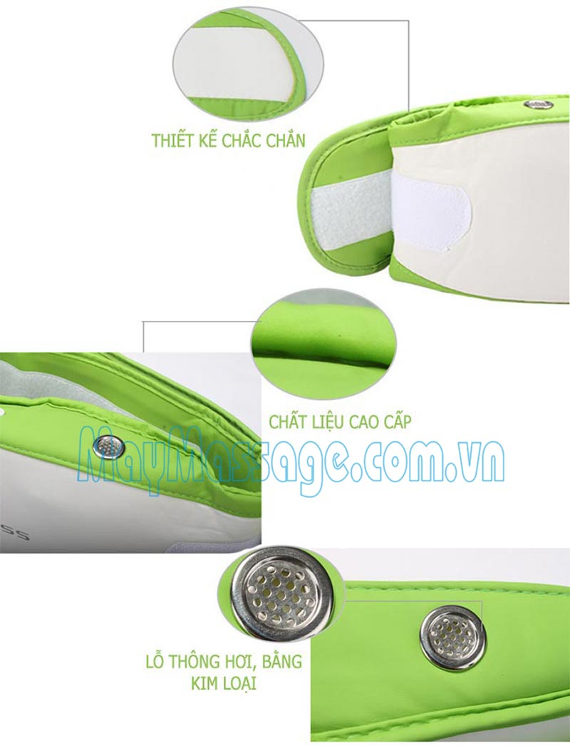 Máy massage bụng Gladness ST-606C