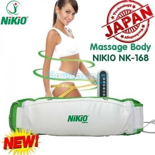 MÁY MASSAGE NIKIO NK-168 NHẬT BẢN