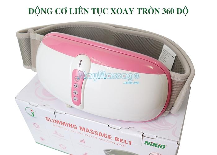 Đai massage bụng Nhật Bản Nikio NK-169 hồng ngoại