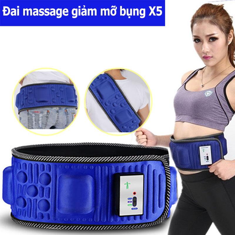 Đai massage giảm mỡ bụng X5