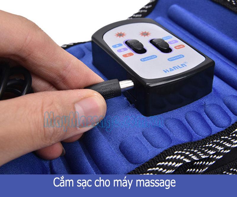 Đai massage bụng X5 Hanln HL-808 - 2 đèn hồng ngoại