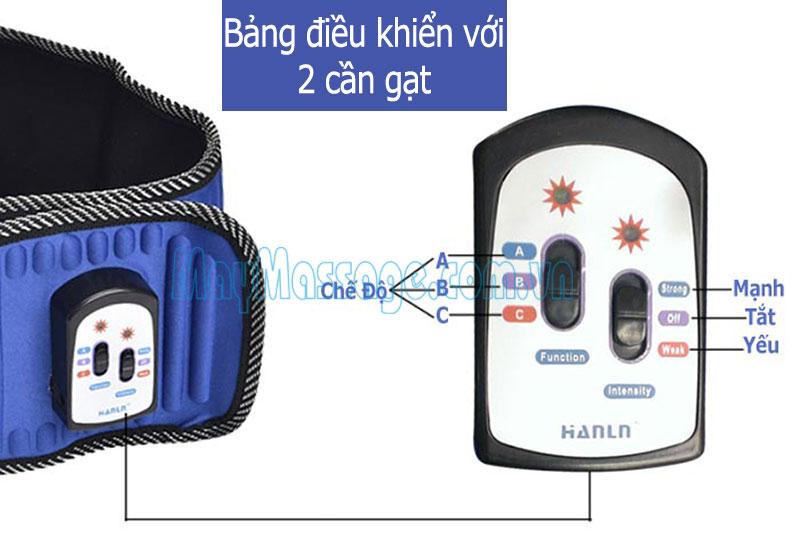 Đai massage X5 Hanln HL-808 - 2 đèn hồng ngoại