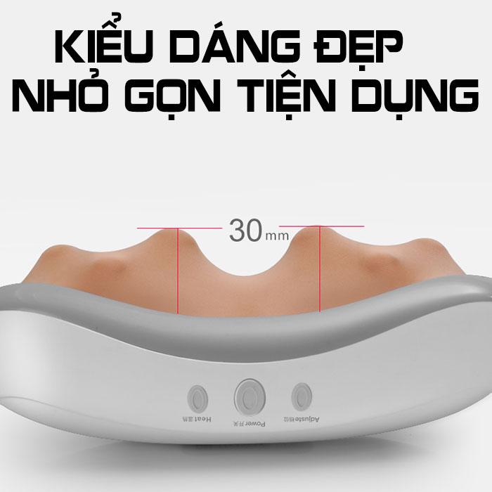 Đai massage bụng xoa bóp giảm mỡ RED FLOWER RF-013S - cắm điện