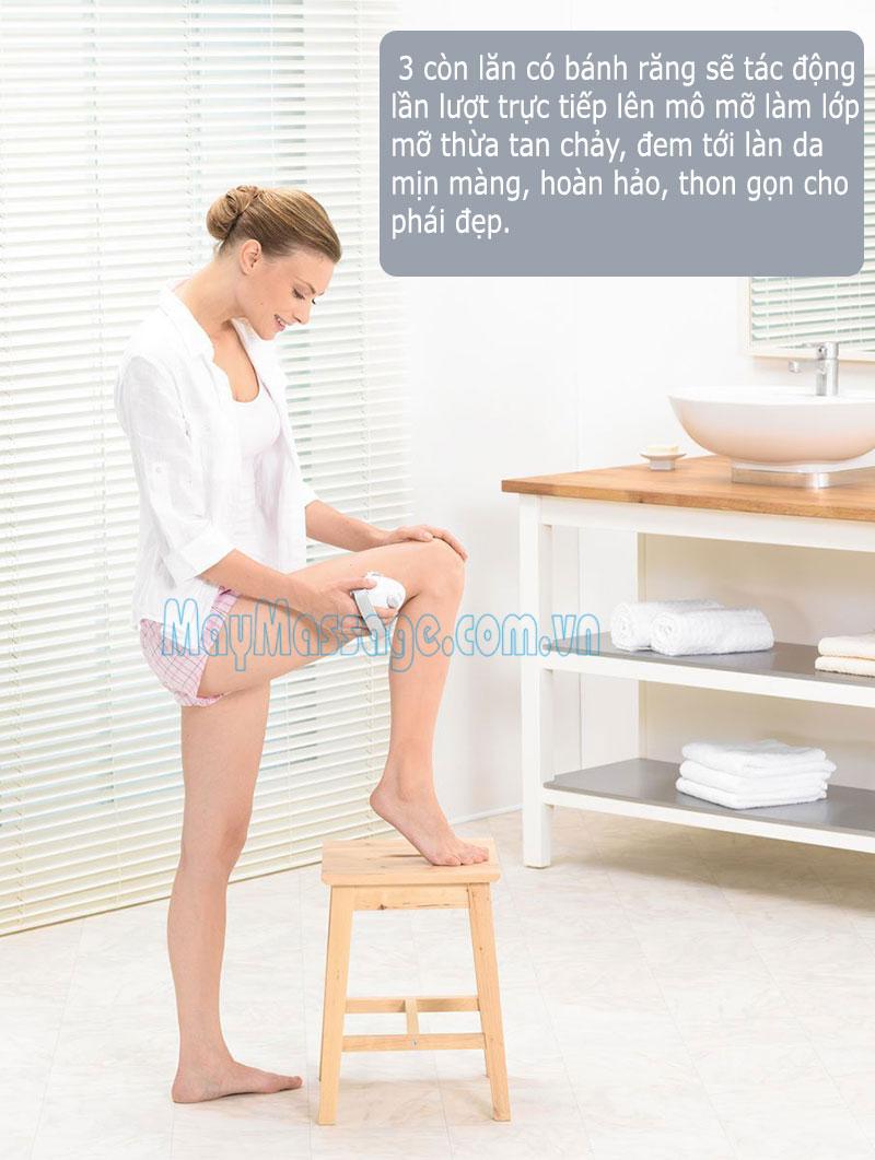 massage cầm tay trị liệu bệnh Cellulite Beurer CM50