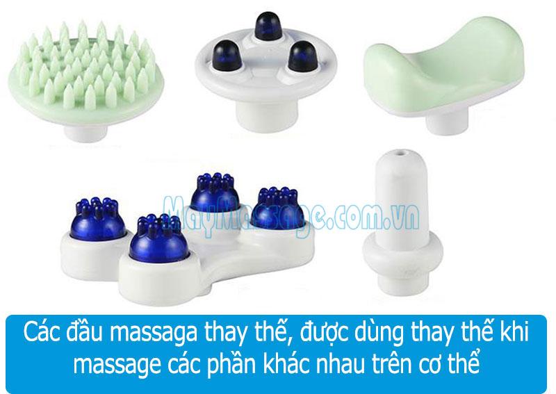 Máy massage cầm tay đa năng Squirrel V-999-Korea
