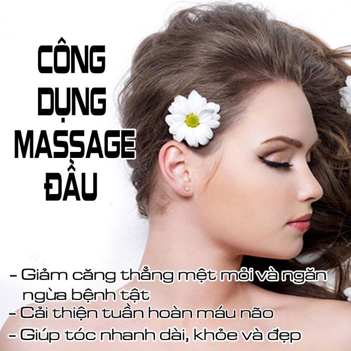 Máy massage đầu 4D Ghen Qiang B26 màu trắng