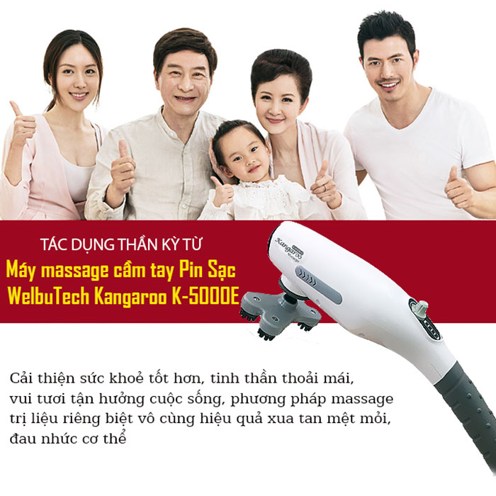 Máy massage cầm tay WelbuTech Kangaroo