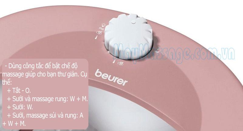 ngâm massage chân Beurer FB-25