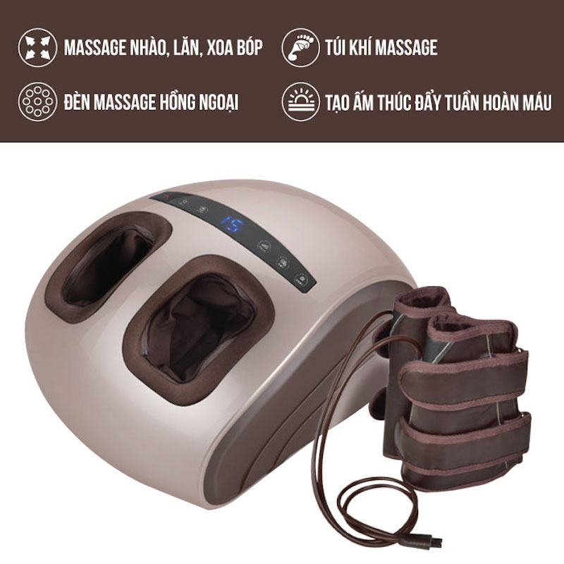 Máy massage chân áp suất khí Nhật Bản Nikio NK-188_1