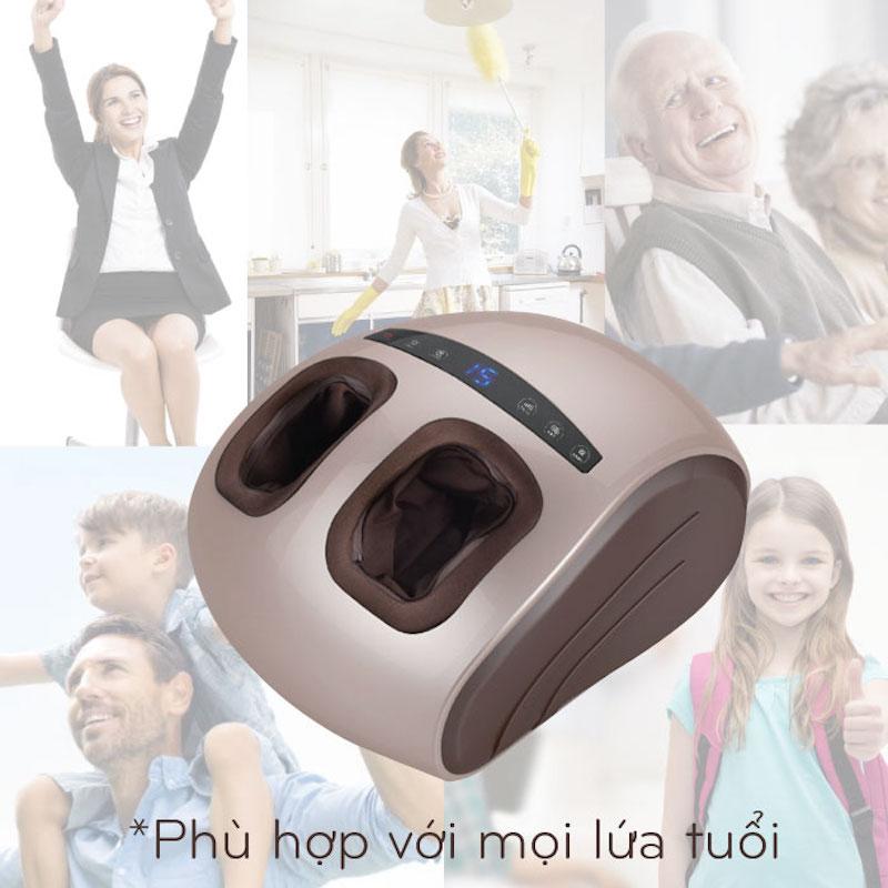 Máy massage chân áp suất khí  Nikio NK-188