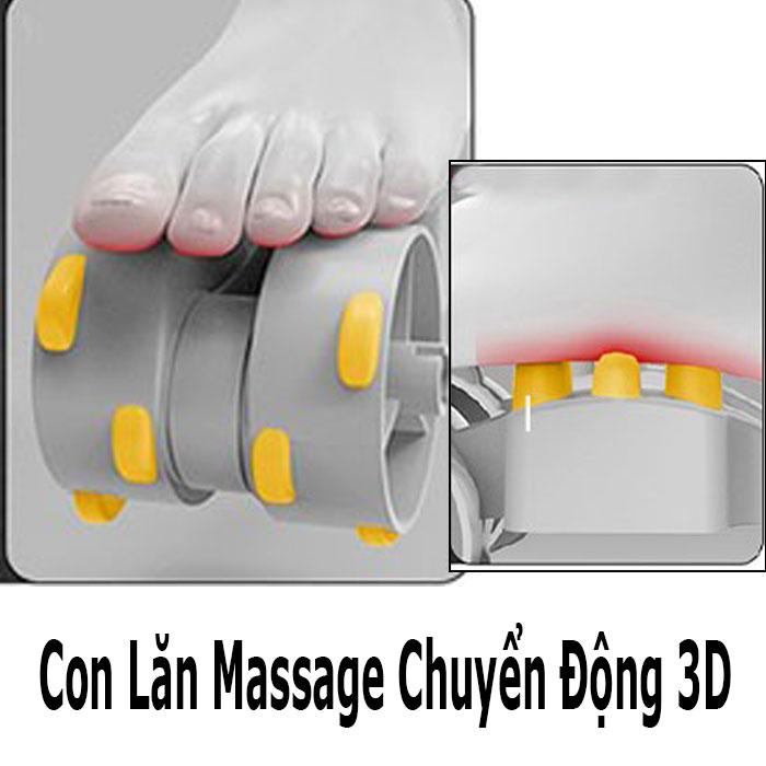 Máy massage chân hồng ngoại áp suất khí PULI