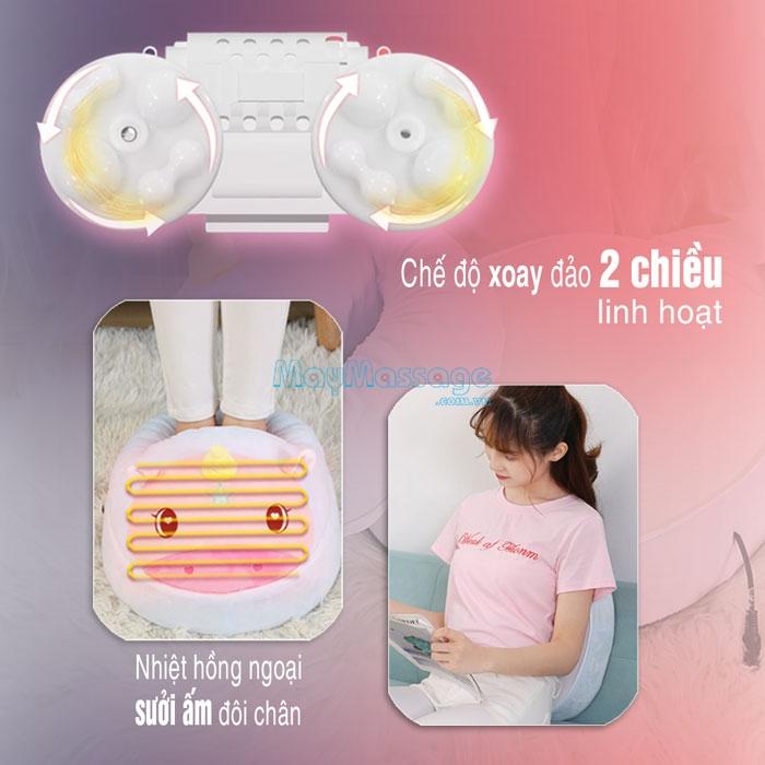 Máy massage chân hồng ngoại YIJIA YJ-Z9