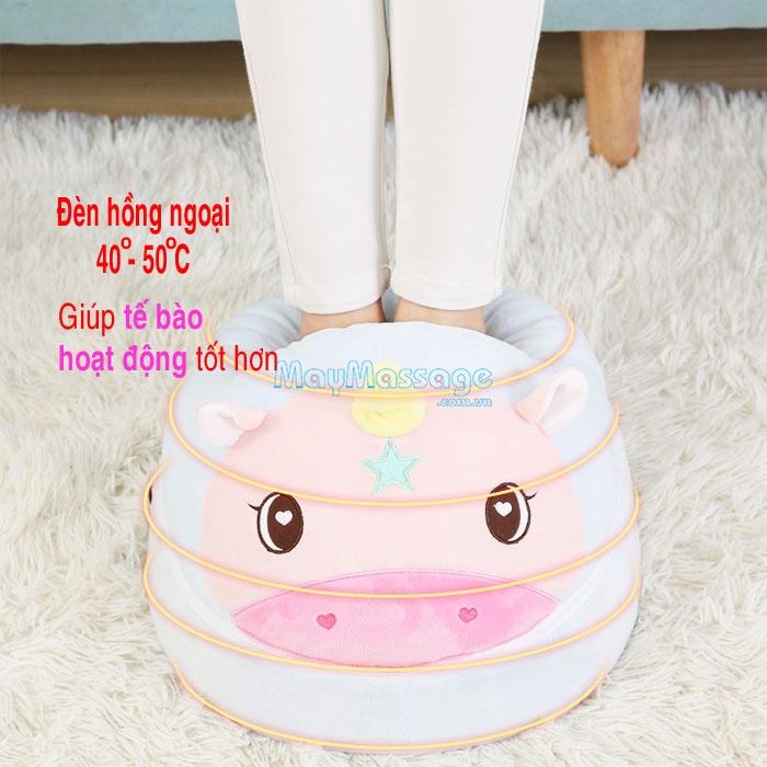 Máy massage chân hồng ngoại hình thú YIJIA YJ-Z9