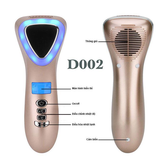 Búa massage điện di nóng lạnh trẻ hóa da mặt tạo inon