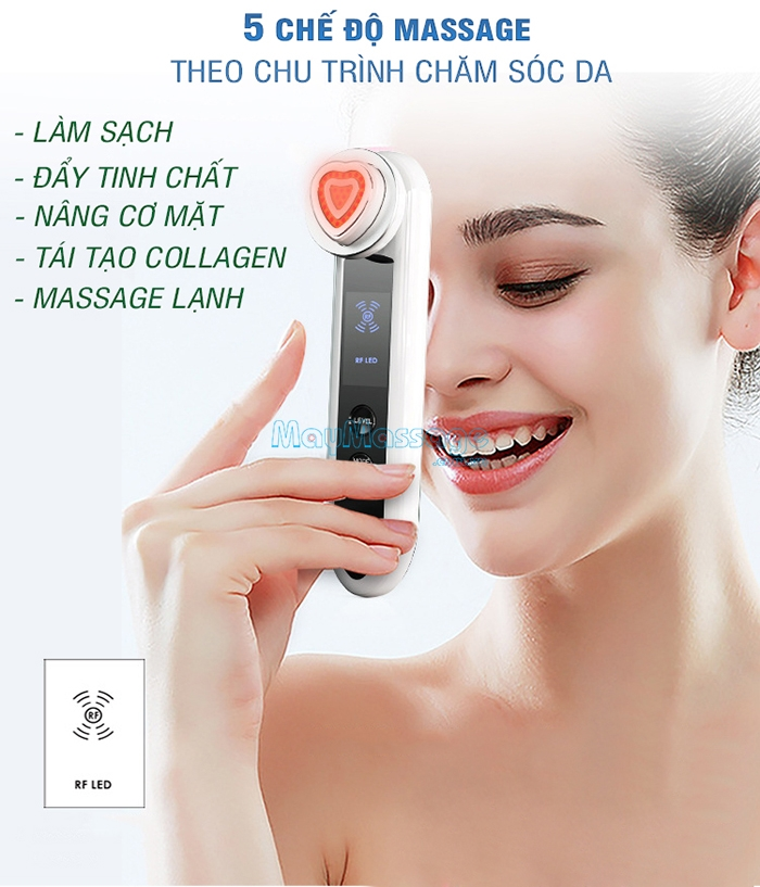 Máy massage làm trẻ hóa da D019