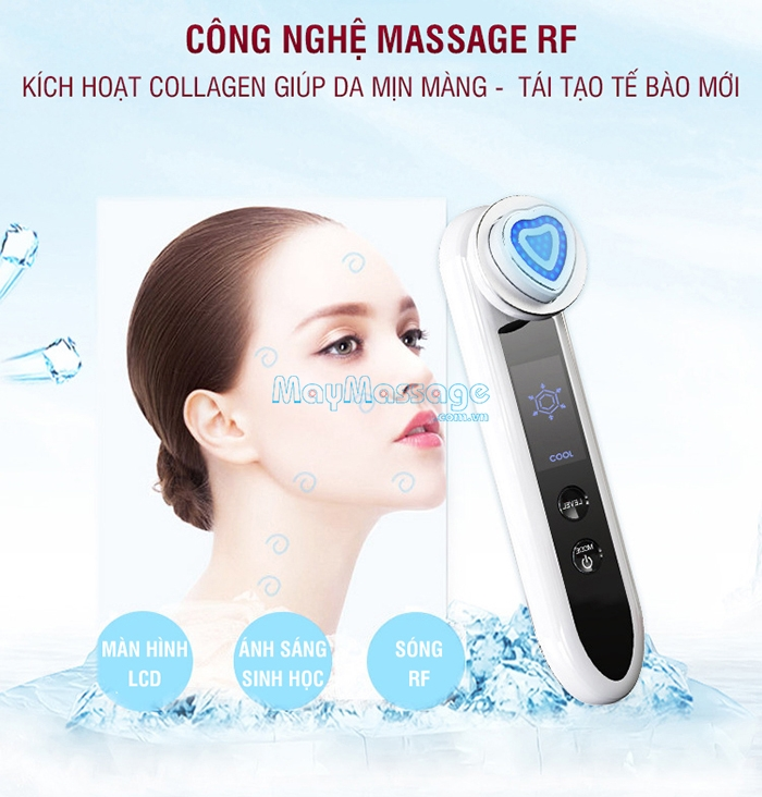 Máy massage mặt RF làm trẻ hóa da