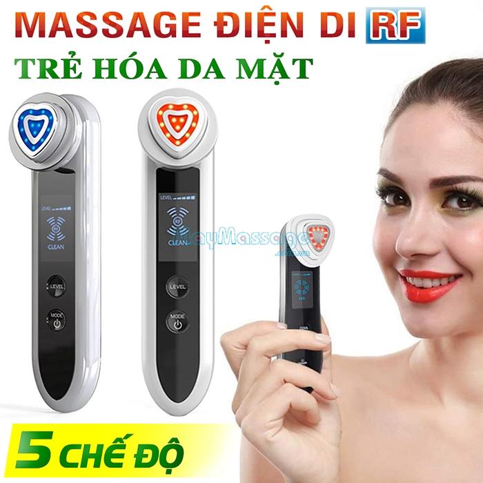 Máy massage mặt điện di RF D019