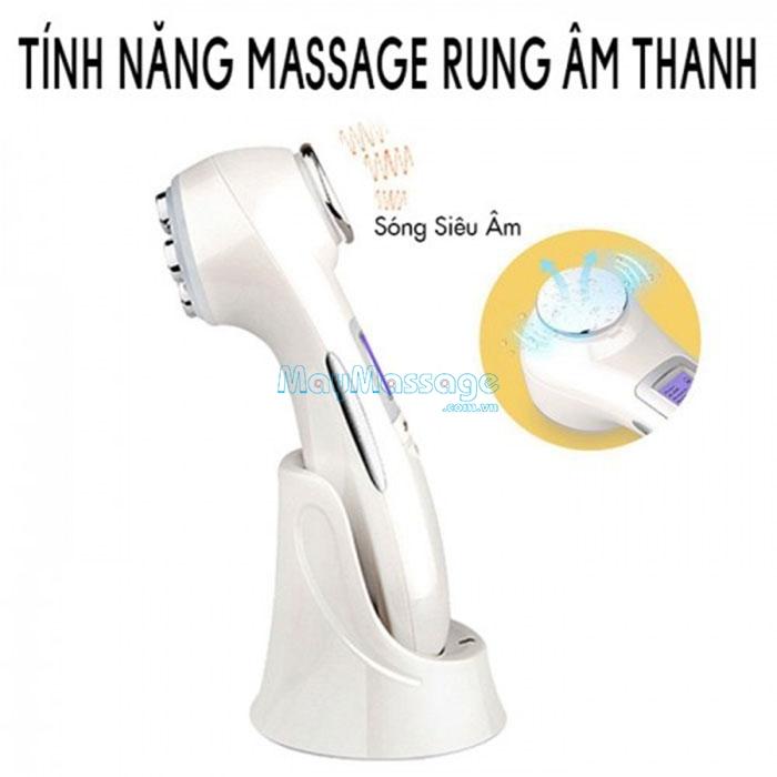 Máy massage mặt 2 đầu 9901