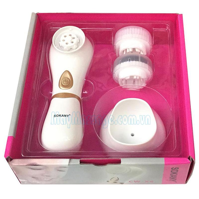 Máy massage rửa mặt Sokany CW-X6