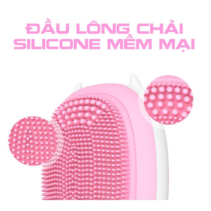 Máy massage rửa mặt mini Hàn Quốc