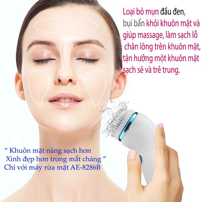 Máy massage và rửa mặt CNAIER AE-8286BMáy massage và rửa mặt CNAIER AE-8286B