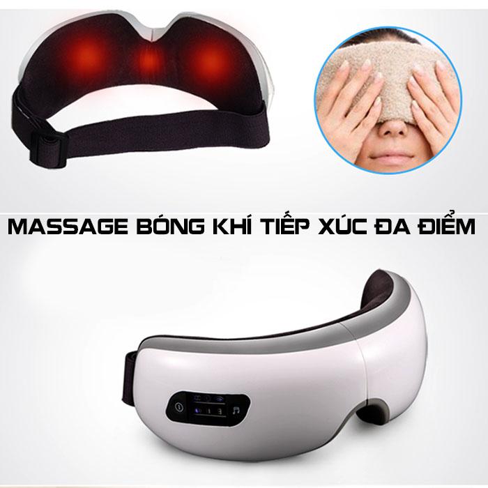 Máy massage mắt áp suất khí có nhiệt nóng