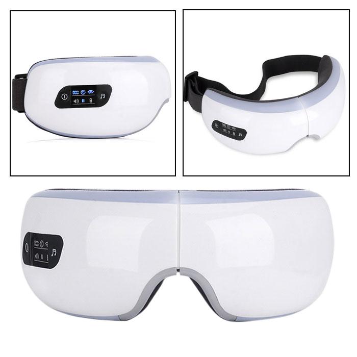 Máy massage mắt áp suất khí nhiệt sưởi T8 thông minh