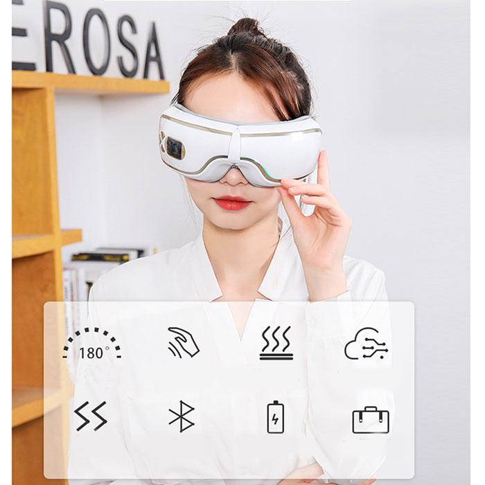 Máy massage mắt áp suất khí Bluetooth YJ-518