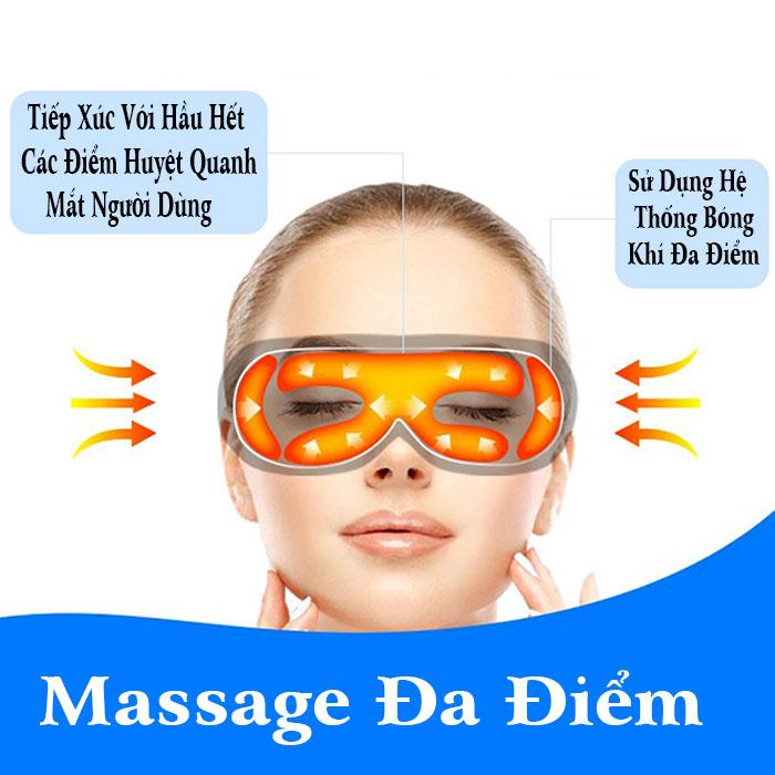 Máy massage mắt thông minh kết nối Bluetooth