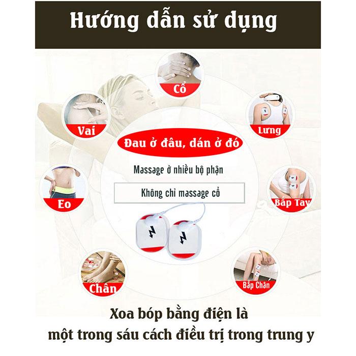 Máy massage cổ KL-5830 màu trắng
