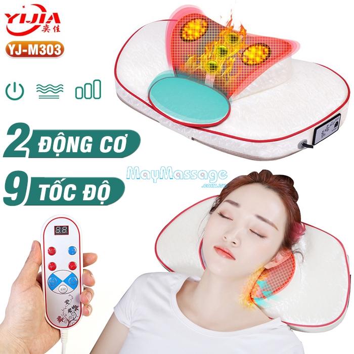 Máy massage cổ vai gáy đa năng cao cấp YIJIA YJ-303