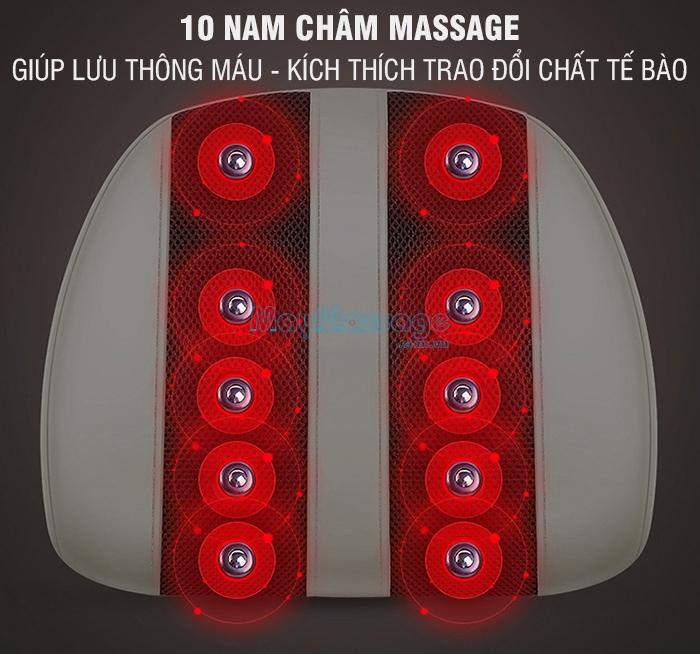 Máy massage lưng cổ vai gáy đa năng YIJIA YJ-M3