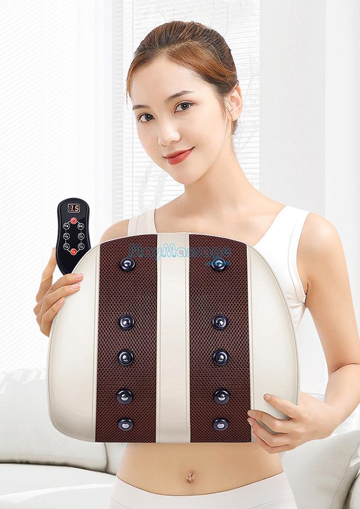 Máy massage điều trị đau mỏi lưng cổ vai gáy YIJIA YJ-M3