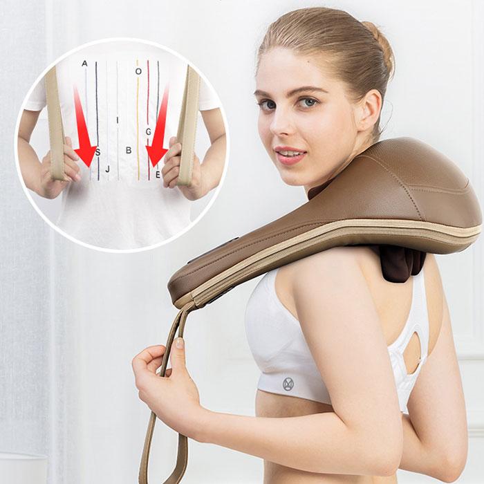 Máy massage cổ xoa bóp ấn huyệt trị liệu đau mỏi MingZhen MZ-666C