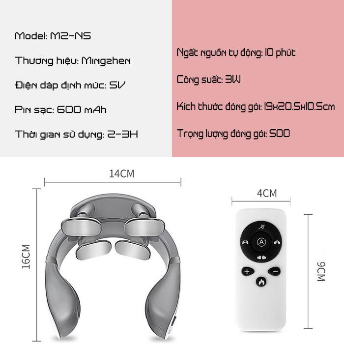 Máy massage xung điện  Mingzhen MZ-N5