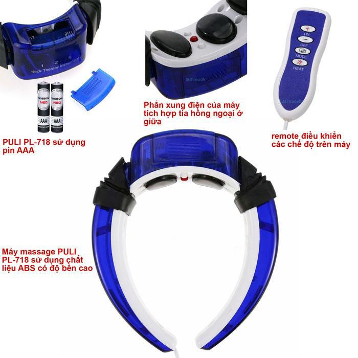 Máy massage PULI PL-718 độ bền cao