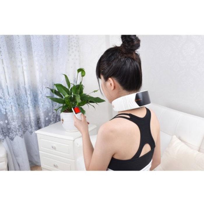 Máy massage cổ xung điện pin sạc PULI